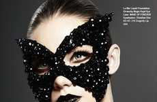 Bejeweled Facial Masks