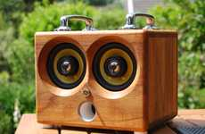 Retrofied iPod Speakers