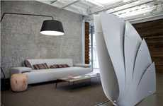 Fanned Room Dividers