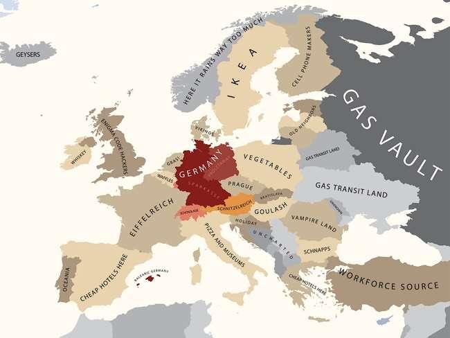 Prejudice Parody Maps