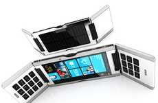 Three-Way Flip Phones