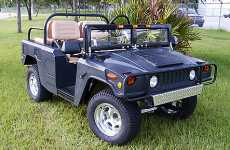 Luxury Golf Carts