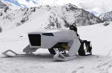 Eco-Friendly Snowmobiles