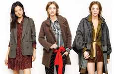 Eclectically Textured Fashion