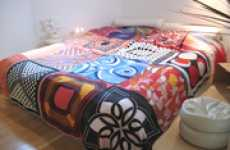 Bedlinen from Vintage Scarves