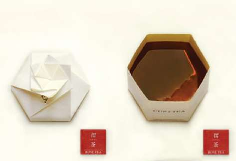 Gorgeous Origami Teacups