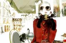 French Fashion Illustrations