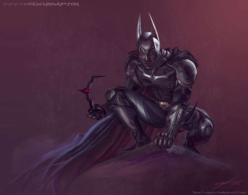 Futuristic Redesign Superhero Renderings
