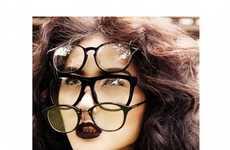 Triple Geeky Glamor Shoots
