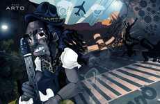 Charismatic Hip Hop Cartoons