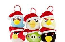 Santa Avian Ornaments