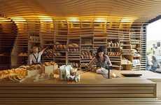 Undulating Wood Bakeries