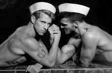 Steamy Splashing Sailor Shoots