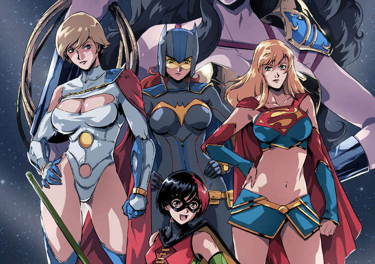 Anime-Style Superheroes