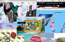 3D Social Networks