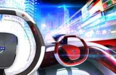 Collision-Preventing Steering Wheels