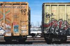 Realist Box-Car Art