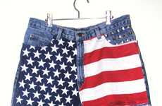 Plush Patriotic Shorts