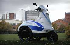 Speedy Three-Wheeled Segways