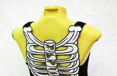 Backless Bone-Baring Attire