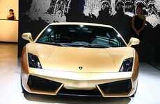 Glamorously Golden Cars