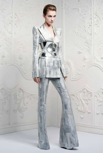 Galactic Androgynous Pantsuits