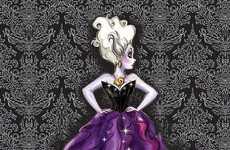 Evil Antagonist-Inspired Makeup