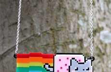 Adorable Kitty Meme Pendants