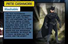 Comic Hero Blogger Comparisons
