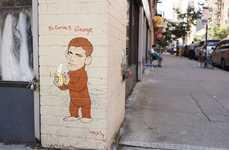 Celebrity Spoof Graffiti