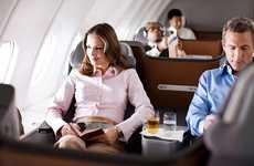 V-Shaped Airplane Seats