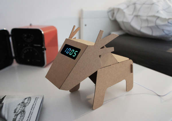 Electronic Cardboard Creatures