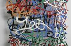Paper Cut-Out Graffiti