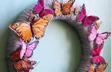 DIY Butterfly Wreaths