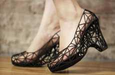 3d-Printed Latticed Footwear