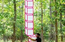 Geometric Optical Illusion Photographs