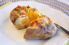 Egg-Brimming Baked Potatoes