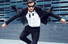 Superhero Fashion Spreads