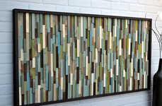 Wooden Kaleidoscope Murals