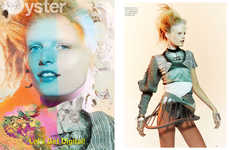 Futuristic Martian-Like Editorials
