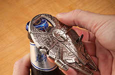 Spacecraft Bottle Openers