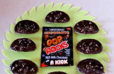 Popping Cocoa Crisps