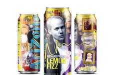 Pop Art Beverage Cans