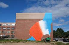 Vibrant Abstract Graffiti