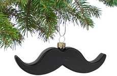 Hairy Holiday Ornaments