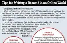 Online Resume Infographics