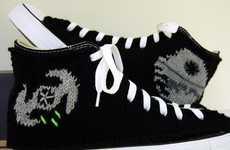 Geek-Chic Crochet Kicks
