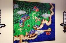 Retro Gamer Bead Murals