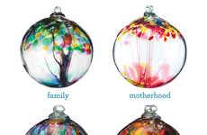 Sentimental Glass-Blown Ornaments