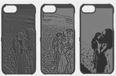 Picture-Punctured Phone Cases